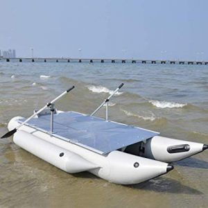 Aquos PF380 FISHME Heavy Duty Inflatable Pontoon review