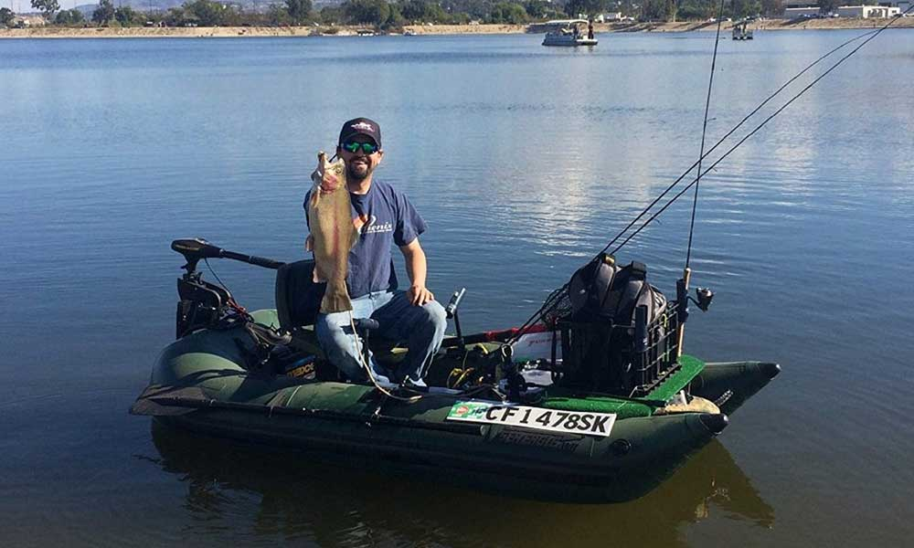 best inflatable Pontoon fishing boat review