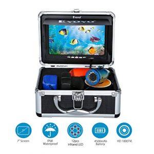 "Eyoyo 7"" TFT LCD Monitor Fishing Camera Portable Underwater Fish Finder"