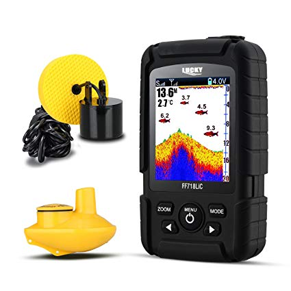 LUCKY Fish Finder Wired & Wireless Portable Fishing Sonar