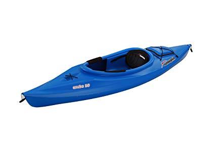 SUNDOLPHIN Sun Dolphin Aruba 10-Foot Sit-in Kayak Best Fishing Kayak Under 500 dollars review