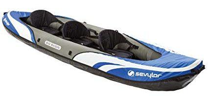 Sevylor Big Basin 3-Person Kayak review Best Fishing Kayak Under 500 dollars