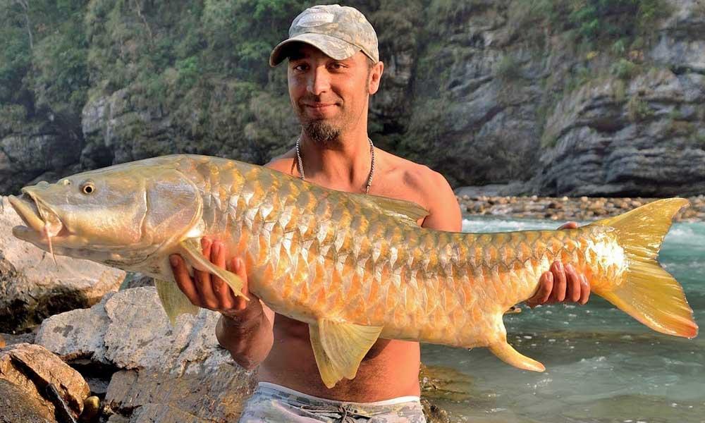 Masheer Fishing in Nepal