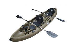 BKC UH-TK219 Tandem Fishing Kayak review