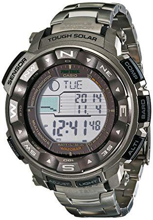 Casio Men's Pro Trek Tough Solar Watch review