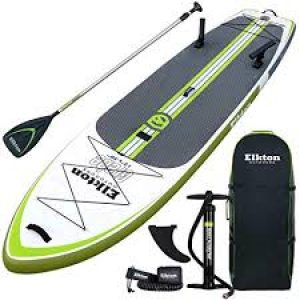 Elkton Outdoors Grebe 12 Ft Fishing Inflatable SUP review