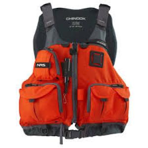 NRS Chinook Fishing Life jacket PFD review