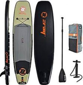 ZRay 11' Fishing SUP review