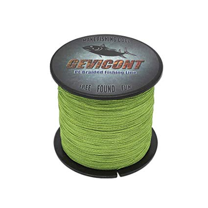 GEVICONT PE Braided Fishing Line review