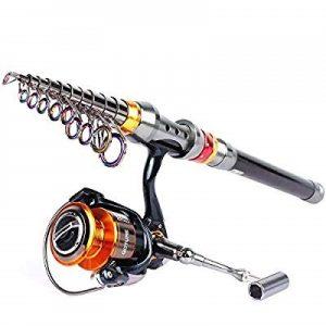 Goture Telescopic Fishing Rod and Reel Combo Full Kit