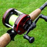 How to put a fishing line to a baitcasting reel