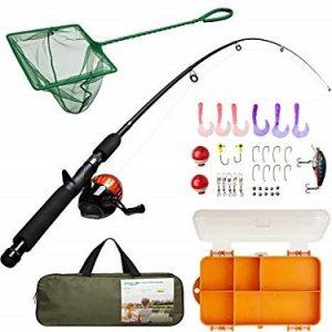 Lanaak Telescopic Kids Fishing Rod and Reel Combo review