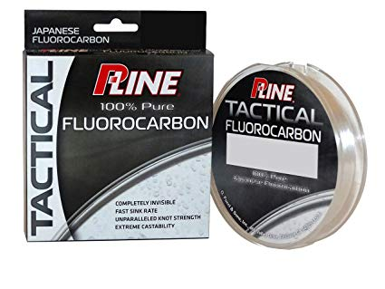 Best Fluorocarbon: P-Line Tactical Premium Fluorocarbon Best Fishing Line for Bass Spinning Reel review