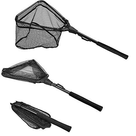 PLUSINNO Foldable Fishing Landing Net review