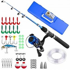 PLUSINNO Telescopic Fishing Rod and Reel Combo for Kids review