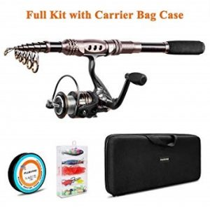 PLUSINNO Telescopic Fishing Rod and Reel Combos review
