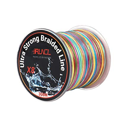 RUNCL Braided Best Fishing Line for Bass Spinning Reel review