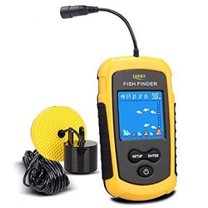 LUCKY Handheld Kayak Fish Finder review