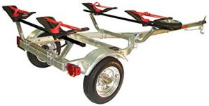 Malone MicroSport Trailer Sea-Wing Two Kayak Transport review