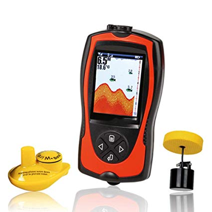 QLPP Portable Fish Finder For Kayak Fishingb