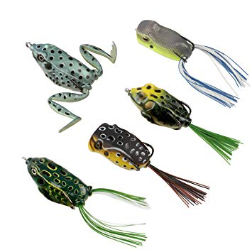 RUNCL Anchor BOC Topwater Frog Lure review