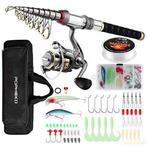 SUPSSHOP Fishing Rod Reel Combo Full Kit review
