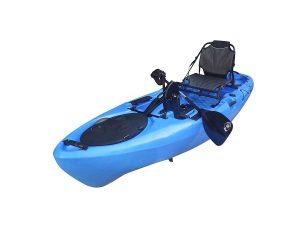 BKC PK11 10.6' Pedal Drive Fishing Kayak review
