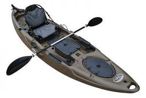 BKC RA220 Single Fishing Kayak review