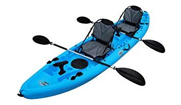 BKC TK 219 12.2' Tandem Fishing Kayak review