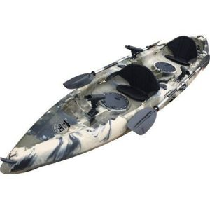 BKC UH-TK181 Tandem 2 Person Fishing Kayak review
