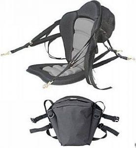 Deluxe Molded Foam - A Sporty Looking Kayak Seat