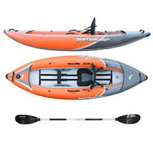 Driftson Rover 120 Inflatable Sit On Top Kayak review
