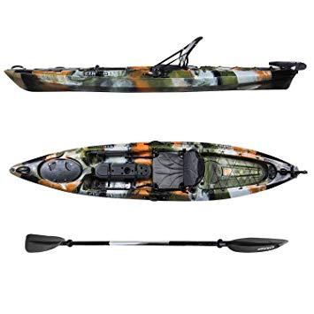 Elkton Outdoors Auklet Sit On Top Fishing Kayak review