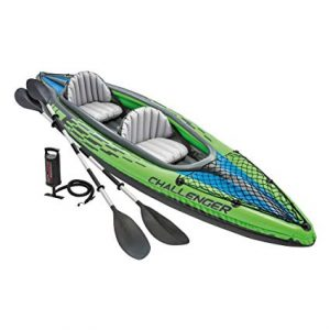 Intex Challenger K2 - The Sporty Tandem Kayak review