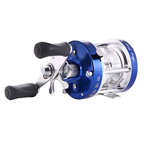 Isafish Baitcasting Reels Conventional Inshore and Offshore Saltwater and Freshwater Fishing Reels