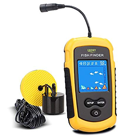 LUCKY Handheld Fish Finder review