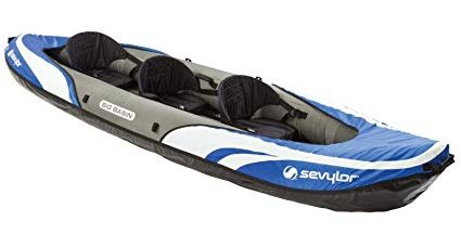 Sevylor Big Basin 3-person Kayak- Best Family Kayak review