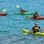 Sit on Top Whitewater Kayak