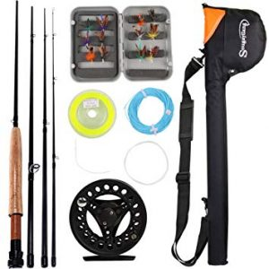 Sougayilang Saltwater Fly Fishing Rod and Reel Combo review