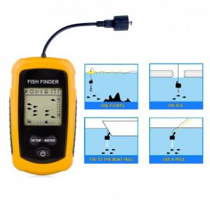 Venterior VT-FF001 Portable Fish Finder review
