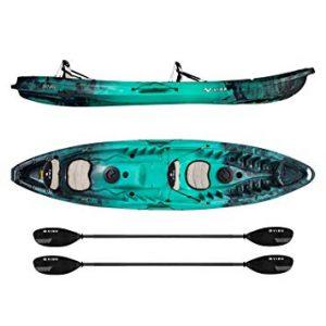 Vibe Kayaks Skipjack 120T 12 Foot Two Person Sit On Top Fishing Kayak review