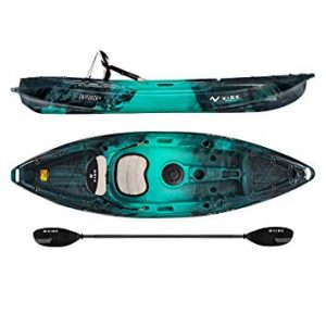 Vibe Kayaks Skipjack 90 9 Foot Angler and Recreational Sit On Top Light Weight Fishing Kayak review