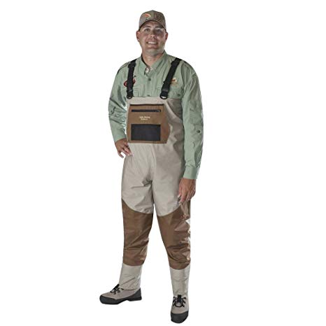 Caddis Men's Deluxe Breathable Stocking Foot Fishing Wader review