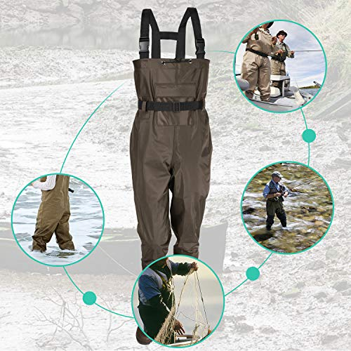 Komex Chest Waders Fishing Boots Waders review