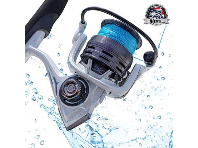 CS4 Spinning Reel Cadence Ultralight & Fast Speed Carbon Frame Fishing Reel with 8 Low Torque Bearings