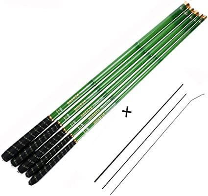 Goture | Tenkara Fishing Rod | Stream Rod 1 Piece Carp Fishing Pole, Carbon Fiber Ultralight Telescopic Fishing Rod