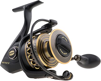 Penn 1338217 Battle II 2500 Spinning Fishing Reel