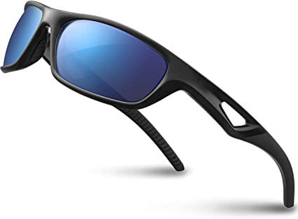 RIVBOS Polarized Sports Sunglasses TR90 - Unbreakable Frame