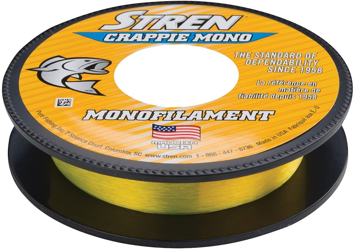 Stren Crappie Monofilament Fishing Line