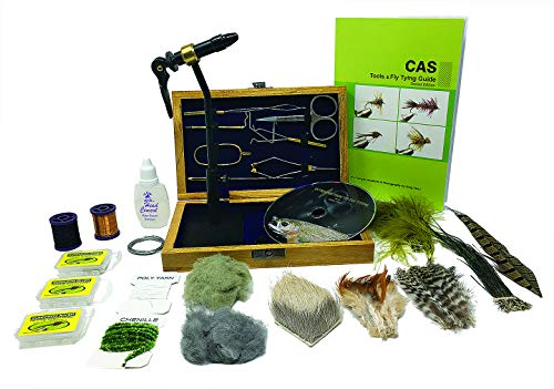 Colorado Anglers Z797 Wooden Fly Tying Kit